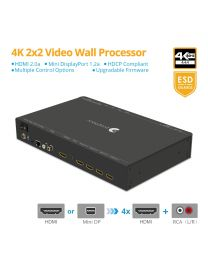 4K 1x4 Video Wall Controller and Processor gofanco