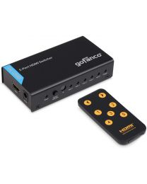 5-port hdmi switcher with remote gofanco