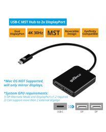 USB-C MST Hub to 2x DisplayPort (USBCMST2DP)