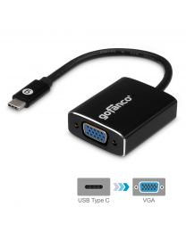 Male USB-C to Female VGA adapter gofanco