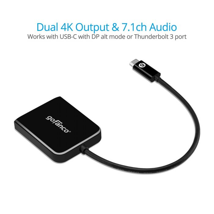 USB-C MST Hub to 2x DisplayPort (USBCMST2DP)
