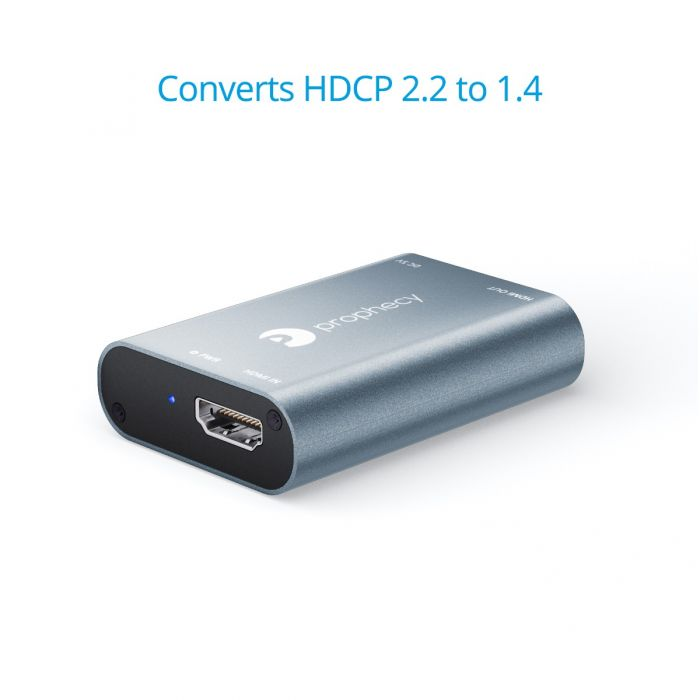 gofanco Prophecy HDCP 2 2 to 1 4 Converter / Downgrader (PRO-HDCPconv)