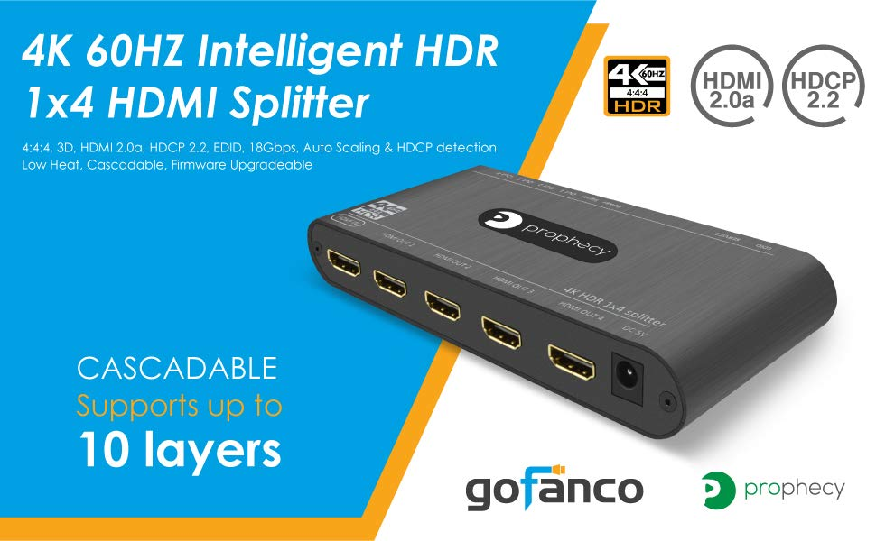Prophecy HDMI Splitter