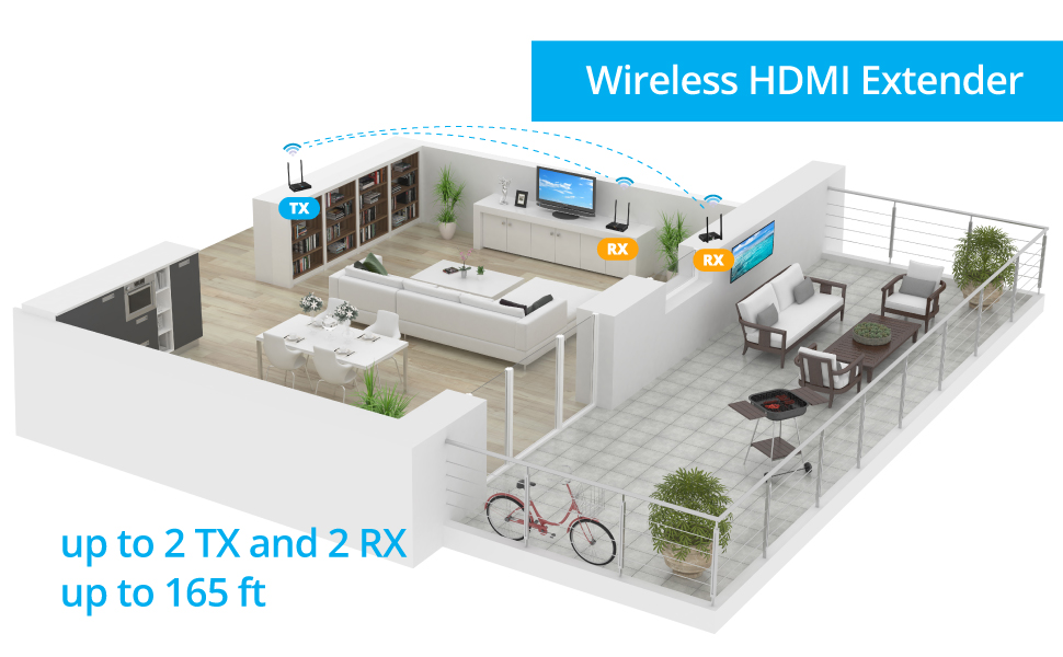 HDwirelessMulti Floor Plan