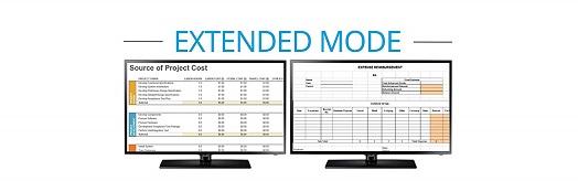 Extended Mode via MST Hub