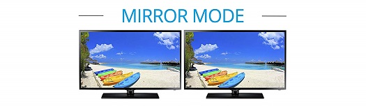 Mirror Mode via MST Hub