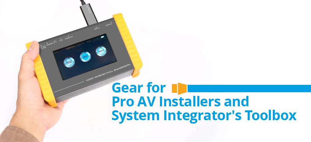 gofanco Gear for Pro AV Installer and System Integrator